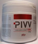 PIVV - Lidocaine cream 9,6 %